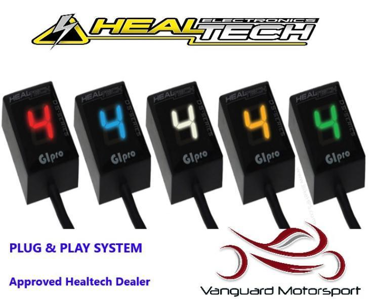 Ducati Monster 696 All Years Healtech Gear Indicator GIpro DS + Mount  Colours